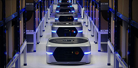Developer of smart robotics systems for warehouses and distribution centres